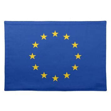 European Union Flag on MoJo Placemat