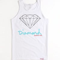 Diamond Supply Co Script Logo Tank at PacSun.com