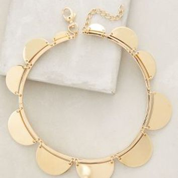 Lele Sadoughi Scalloped Necklace in Gold Size: One Size Necklaces