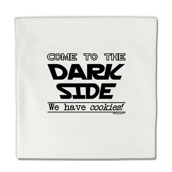 """Come To The Dark Side - Cookies Micro Fleece 14""""x14"""" Pillow Sham by TooLoud"""