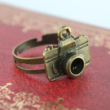 vintage style camera adjustable ring