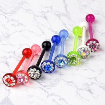 SALE! 4 Piece Pack (4 MORE FREE!) Colorful Flexible Tongue or Nipple. WIN A FREE GIFT!