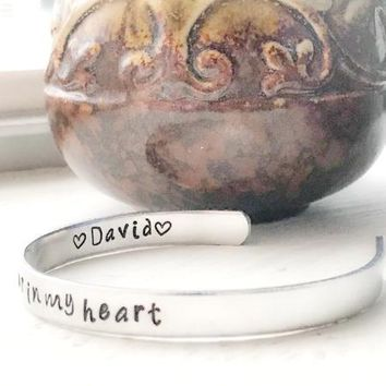 Miscarriage Gifts Loss of Child Gift - Forever In My Heart Jewelry