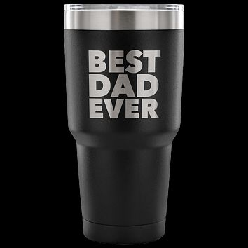 Gifts for Dad Tumbler Gift from Son Gift from Daughter Funny Double Wall Vacuum Insulated Hot & Cold Travel Cup 30oz BPA Free