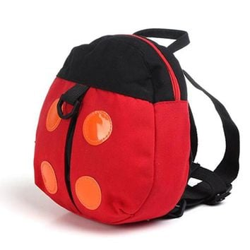 Toddler Backpack class Baby bag With toddlers Anti-lost baby backpack Cartoon Backpacks Ladybug bat Pattern Baby harness kids keeper Strap bag AT_50_3