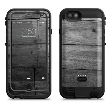 The Gray Worn Wooden Planks  iPhone 6/6s Plus LifeProof Fre POWER Case Skin Kit