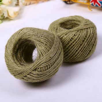 50m sisal rope for cats scratching post toys making DIY desk foot stool chair legs binding rope material for cat sharpen claw