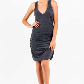 Jersey Vesper Mini Dress in Black