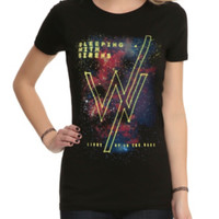 Sleeping With Sirens Galaxy Girls T-Shirt
