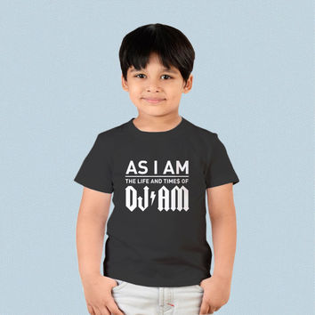 Kids T-shirt - As I Am The Life and Times of DJ Am