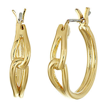 Kate Spade New York Get Connected Small Hoops Earrings