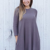 That Feeling Pocket Dress - Mocha