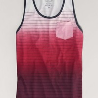 AEO Men's Shoreline Tank (Artistic Repair)
