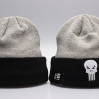 Perfect Cartoon Beanies Print Women Men Hip hop Beanies Winter Knit Hat Cap