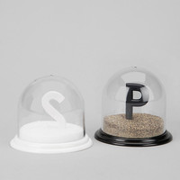 Urban Outfitters - Snow Globe Salt And Pepper Shaker - Set Of 2