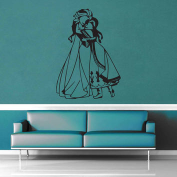 Elsa and Anna - Wall Decal - No 1$19.95