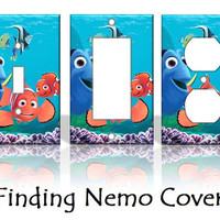 Finding Nemo Disney Light Switch Covers by KeepCalmandTurnItOn