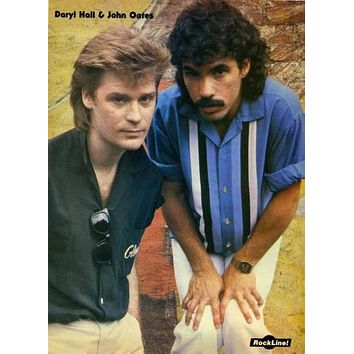 Hall And Oates Poster 11 inch x 17 inch poster