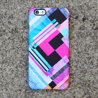 Geometric Chevron Colors iPhone 6 Case Pink iPhone 6 plus Case iPhone 5S 5 iPhone 5C iPhone 4S/4 Case Samsung Galaxy S5/S4/S3/Note 3 Case