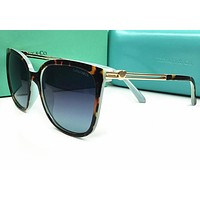 Tiffany & Co. TF 4105-H-B Women Square Mirrored Sunglasses 82006V