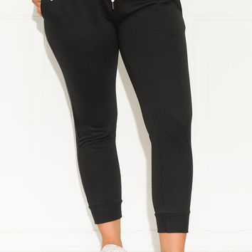 Keep It Going Jogger Black