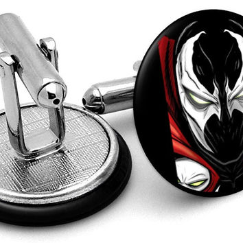 Spawn Portrait Cufflinks