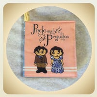 Pride and Prejudice small cloth quiet book for toddler baby Jane Austen Little Literary Classics
