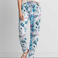 AEO Silky Track Pant, Mint