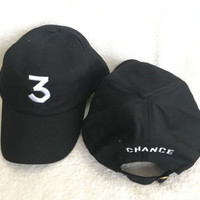 Chance 3 The Rapper Coloring Book Dad Cap The Life Of Pablo 6 God Drake Embroidered Hat