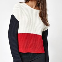 LA Hearts Colorblock Sweater at PacSun.com