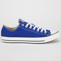 Converse Chuck Taylor All Star Low Mens Shoes Radio Blue  In Sizes