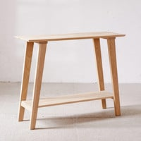 Simple Wood Console | Urban Outfitters