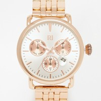 River Island Date Bubble Rose Gold Watch
