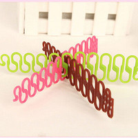2pcs French Hair Braiding Tool Roller With Magic hair Twist Styling Bun Maker