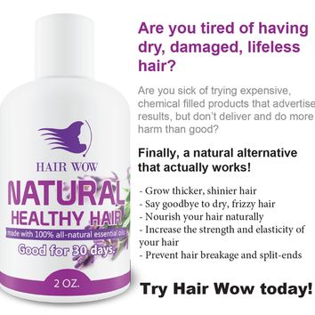 Hair Wow Natural Hair Booster