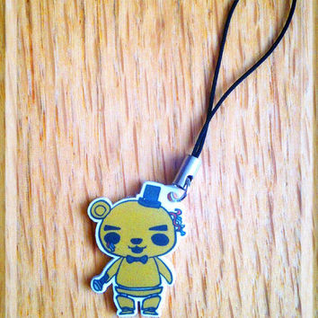 Five Nights at Freddy's Chibi Golden Freddy Cell Phone/3DS Charm