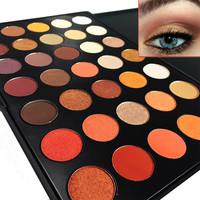 Newest 350 Palette 35 Color Eyeshadow Palette sexy Color Shimmer Matte Eye Shadow Cosmetic Beauty Makeup Set