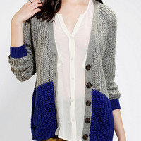 Urban Outfitters - Olive & Oak Colorblock Cardigan