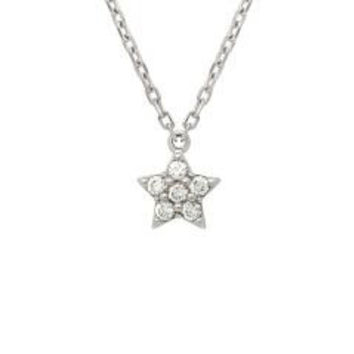 Sterling Silver Nickel Free Star Cluster Necklace