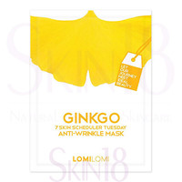 LomiLomi 7 Skin Scheduler Mask - Tuesday [Ginkgo- Anti-Wrinkle Masks] *exp.date 01/2018*