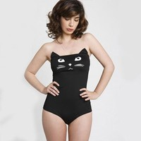 Sexy Kawaii Cat One-piece Bodysuit