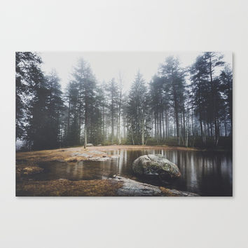 Moody mornings Canvas Print by happymelvin