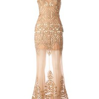 Zuhair Murad Embellished Evening Dress - L'eclaireur - Farfetch.com
