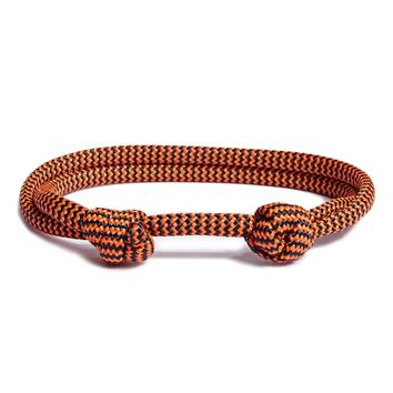 """Trailing Edge"" Double Knot Cord Bracelet for Men"
