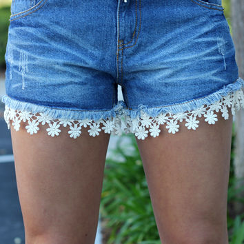 Touch Of Lace Shorts