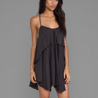 RVCA Racket Dress in Gray
