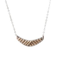 Crescent Art Deco Necklace