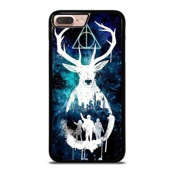DEATHLY HALLOWS HARRY POTTER AQUARELL iPhone 8 Plus Case