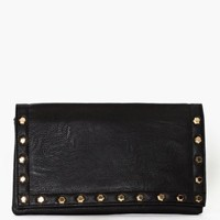 Rough Edges Clutch - Black