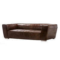 Aspen Leather Sofa